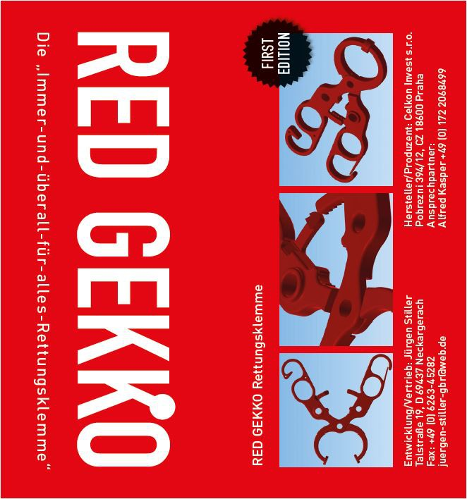 Verpackung RED GEKKO First Edition